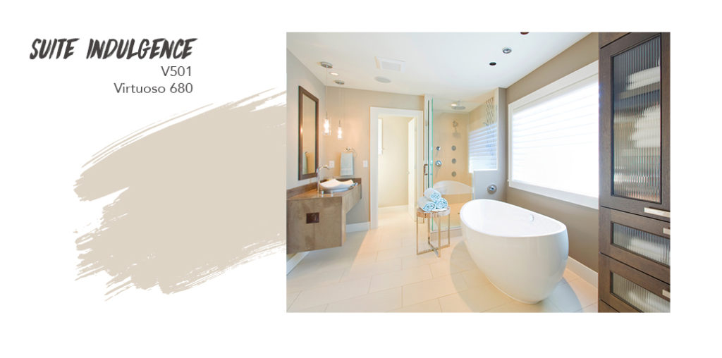 Light Neutrals Bathrooms: Suite Indulgence