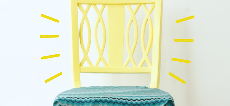 repainted chair