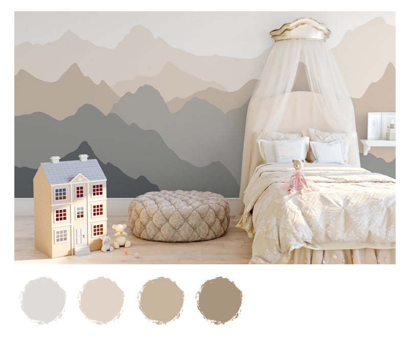 The Grey Palette as an Alternative for Baby Rooms