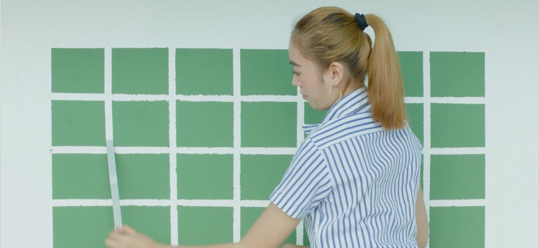 DIY Chalkboard Calendar Wall | Krafty Kriz