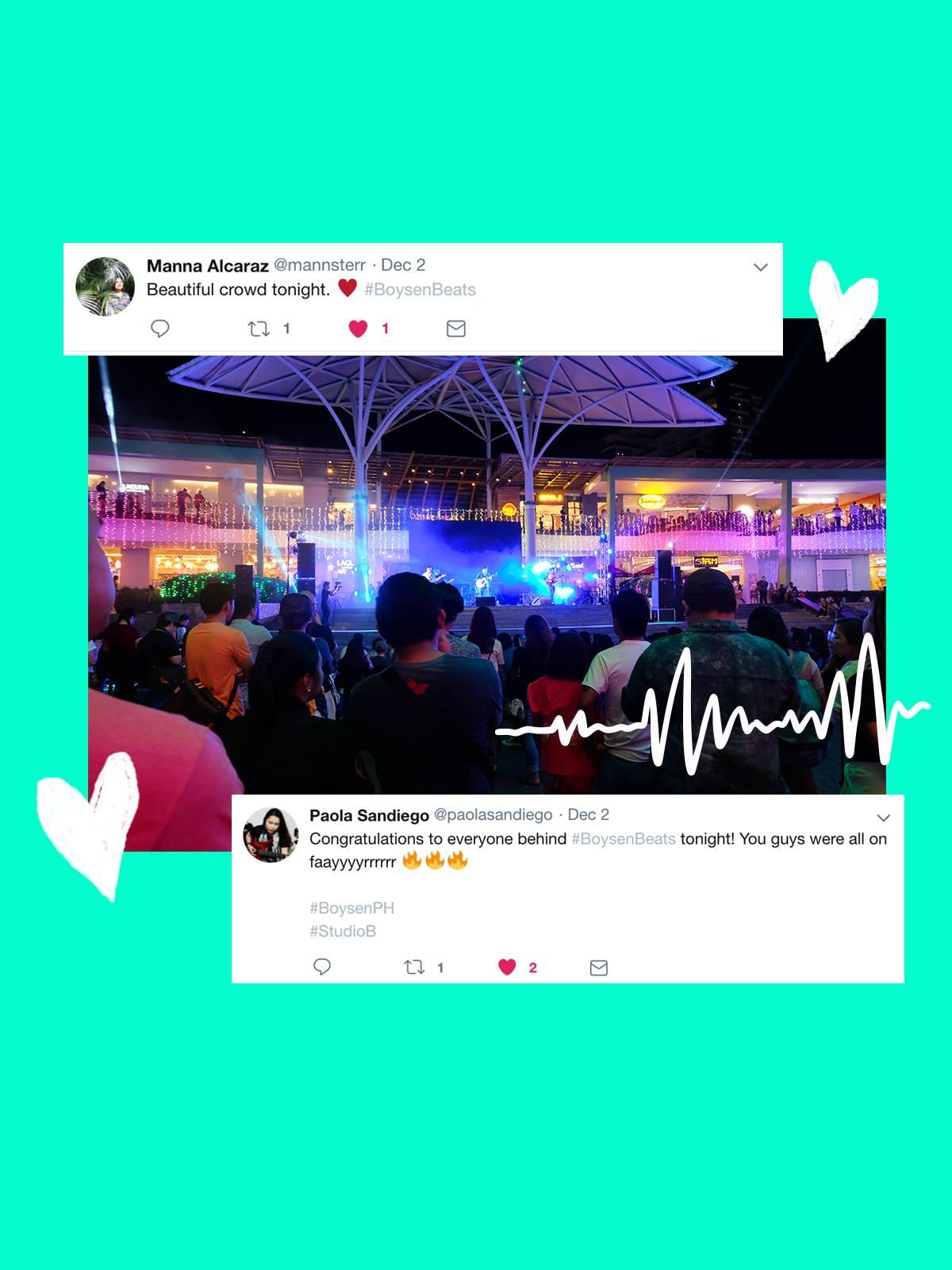 The Energetic Debut of Boysen Beats in Ayala Cebu