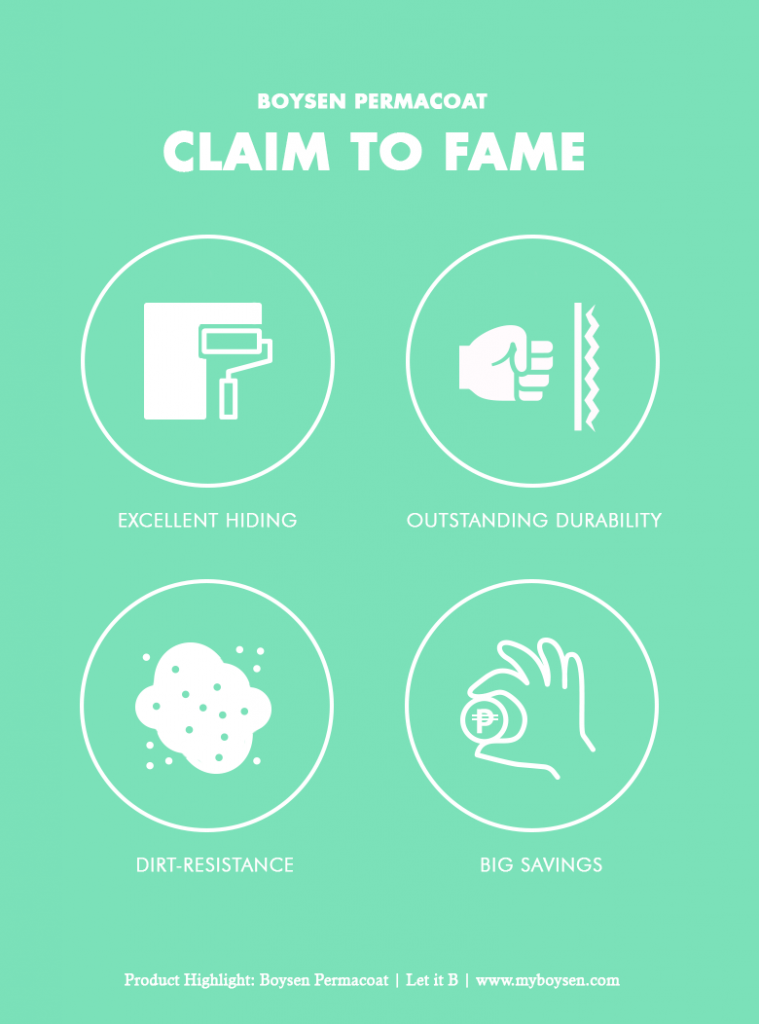 Boysen Permacoat - Claim to Fame - Infographic