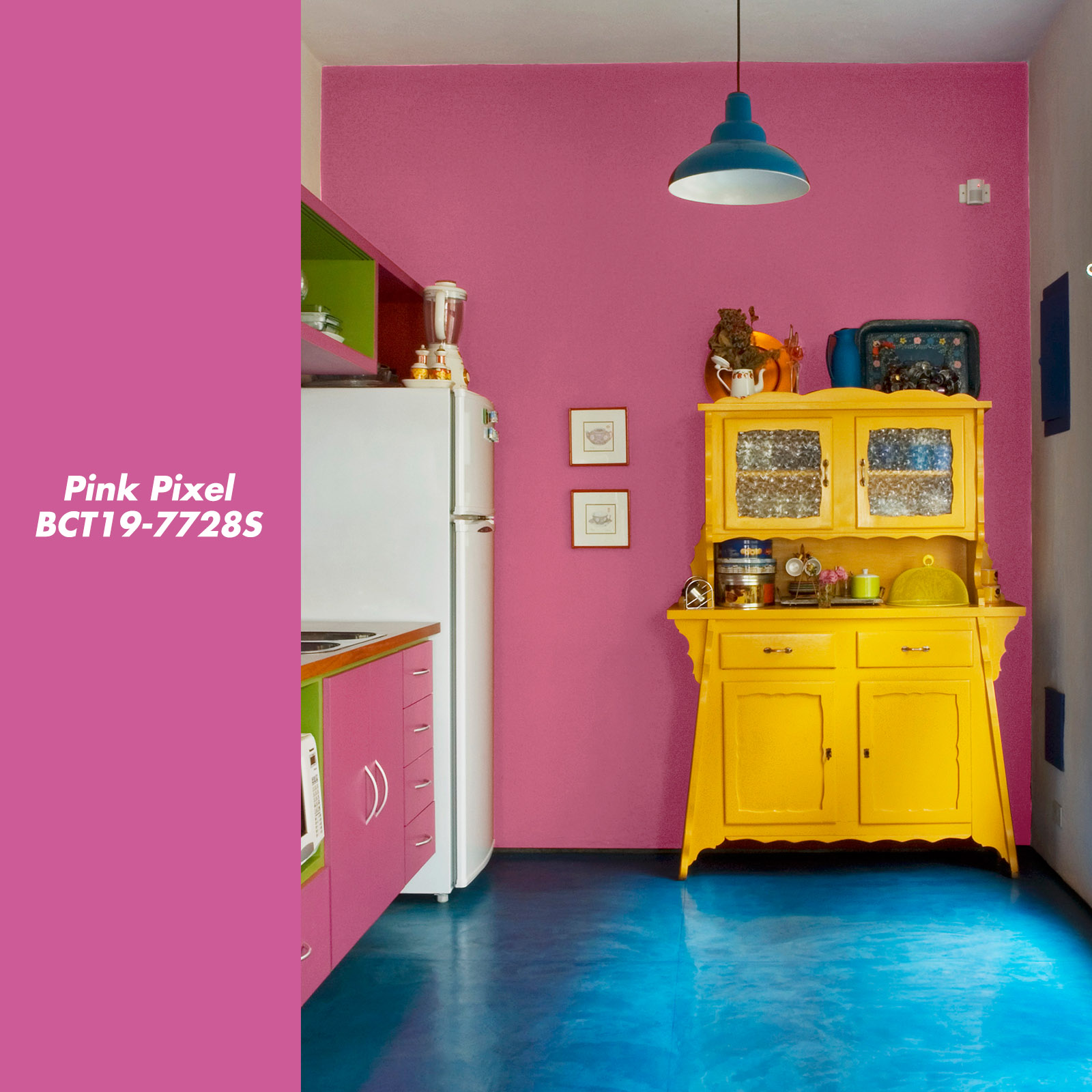 2 Enable Kitchen Pink Pixel