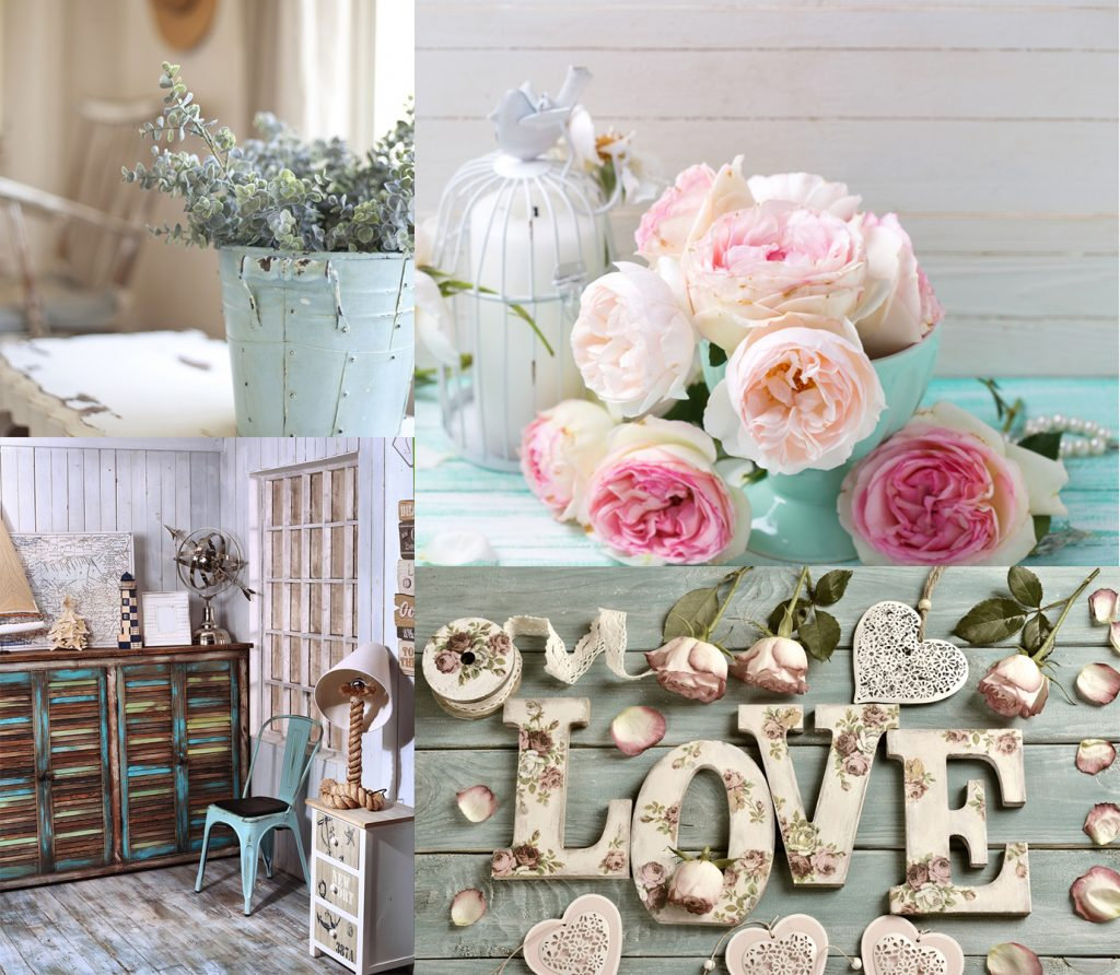New Hue New You - Floral Rustic Collage