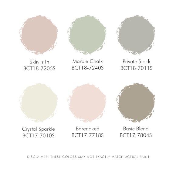 New Nordic Suggested Palette