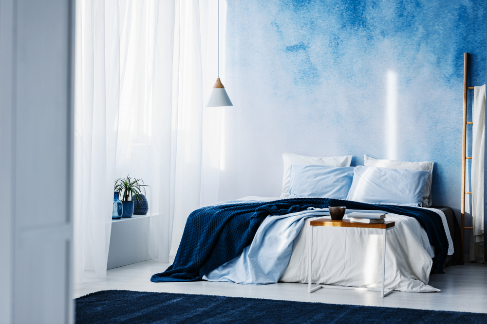 Painting idea: Ombre Bedroom Wall