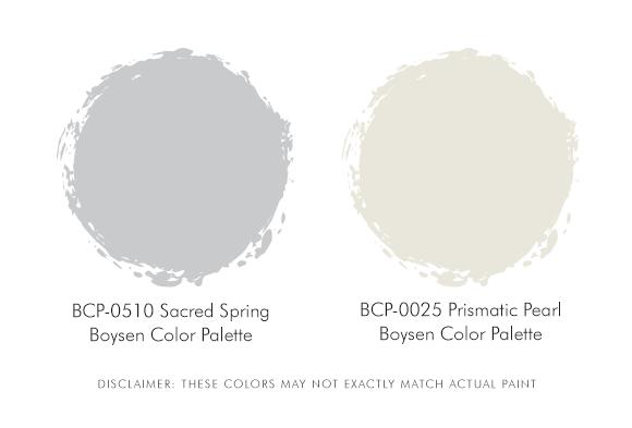 Boysen Palette Grey and white