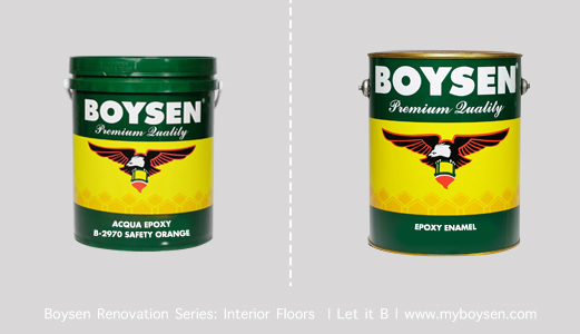 Boysen Acqua Epoxy and Boysen Epoxy Enamel