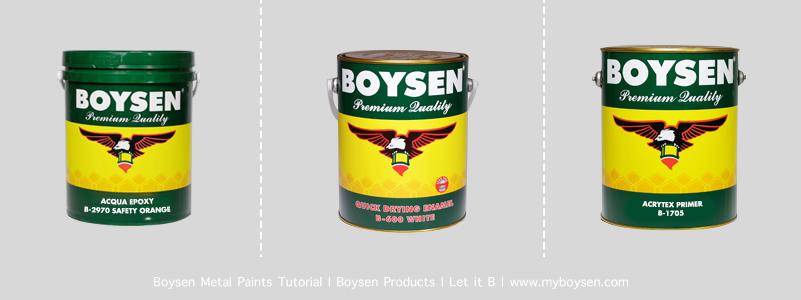 Boysen Metal Primer Cans