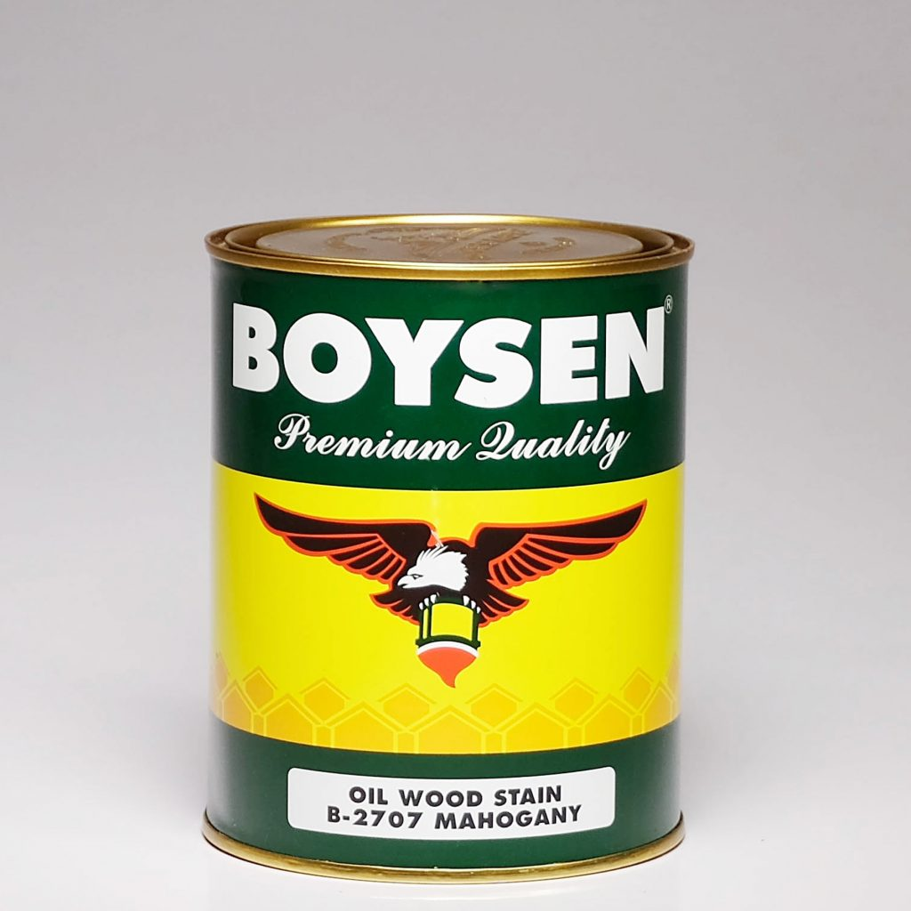 Boysen Oil Wood Stain Can Image