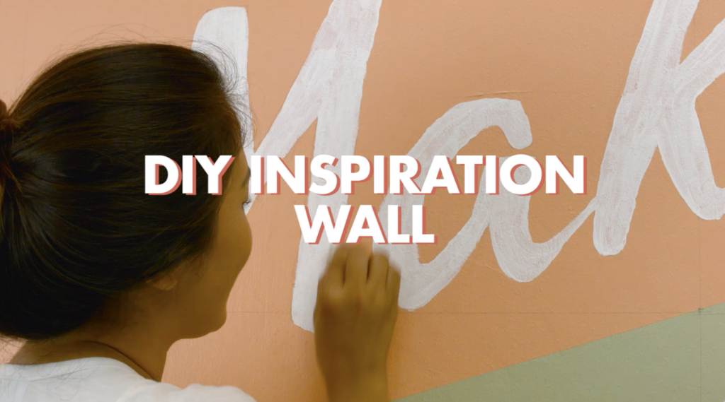 DIY Inspiration Wall | Krafty Kriz