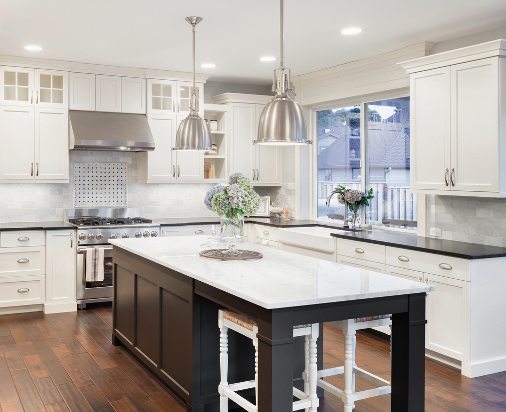2019 Kitchen Design - Black Accents