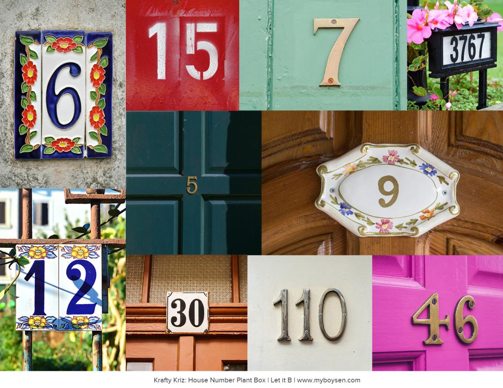 House Door Numbers