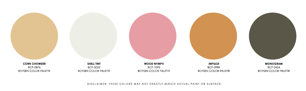 The 80-20 Rule in Interior Design - Palette 1