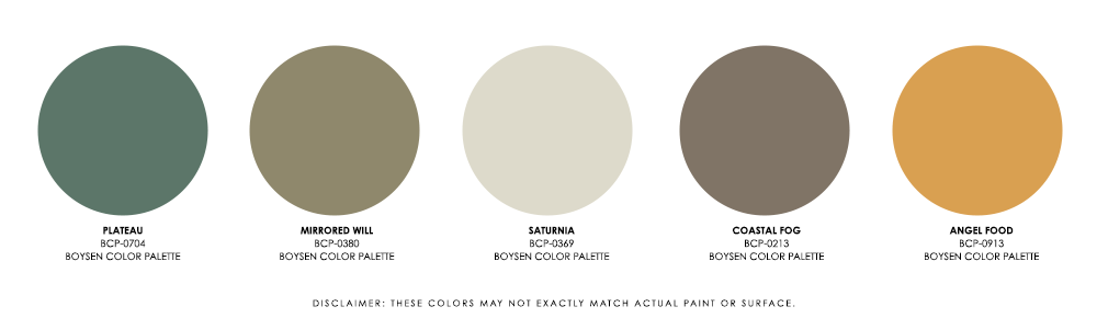 The 80-20 Rule in Interior Design - Palette 4