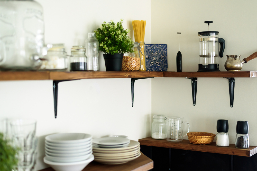 2019 Kitchen Design Trend - Open Shelving