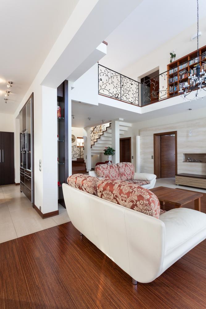 classy-house living room mezzanine