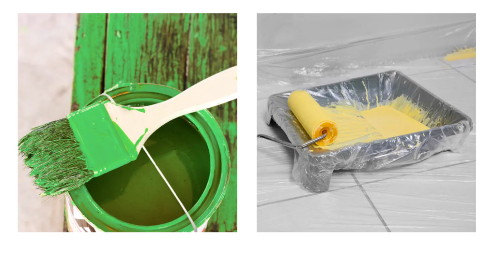 Boysen Painting Cleanup Tip #1: Minimize the mess