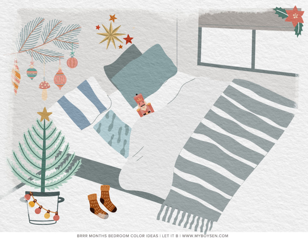 Brrr Months Bedroom Color Ideas