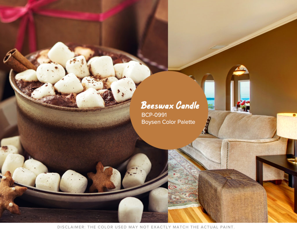 Christmas Won't be the Same without Hue - Brown Boysen Color Swatch
