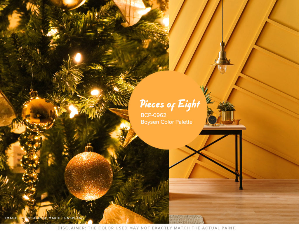 Christmas Won't be the Same without Hue - Gold Boysen Color Swatch