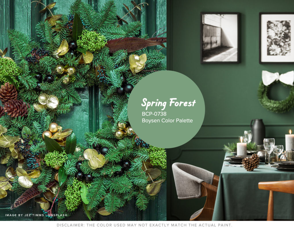 Christmas Won't be the Same without Hue - Green Boysen Color Swatch