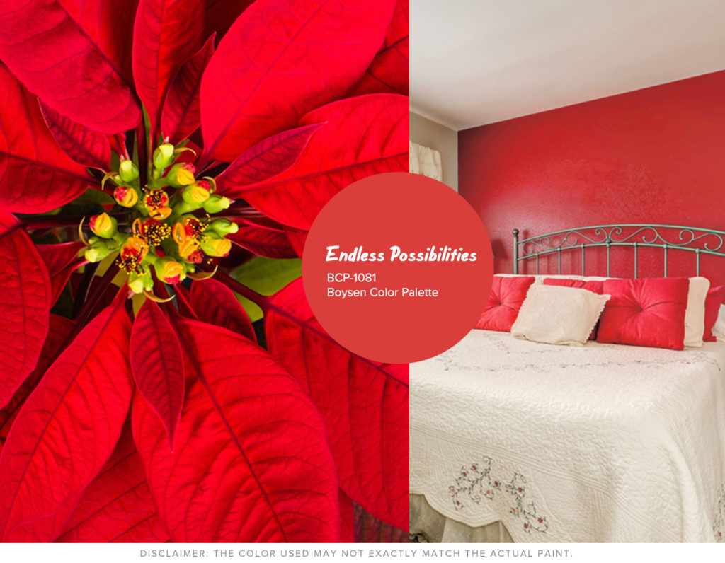 Christmas Won't be the Same without Hue - Red Boysen Color Swatch