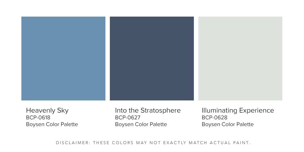 Boysen Color Palette