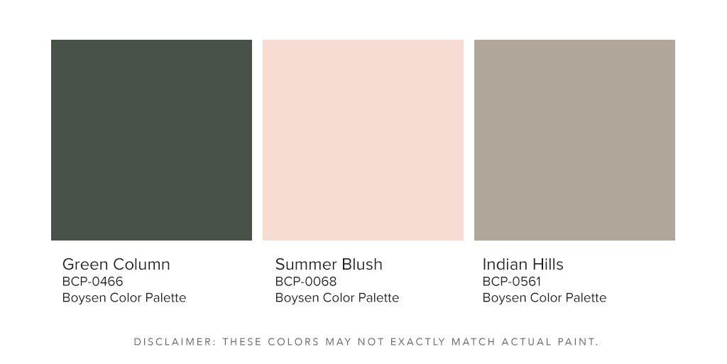 Boysen Dark Color Palette