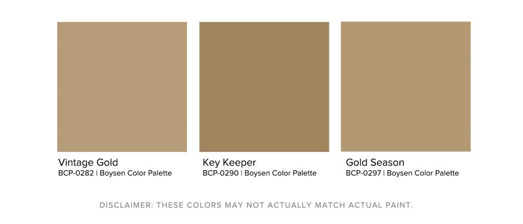 Home Office Paint Colors - Boysen Brown Palette
