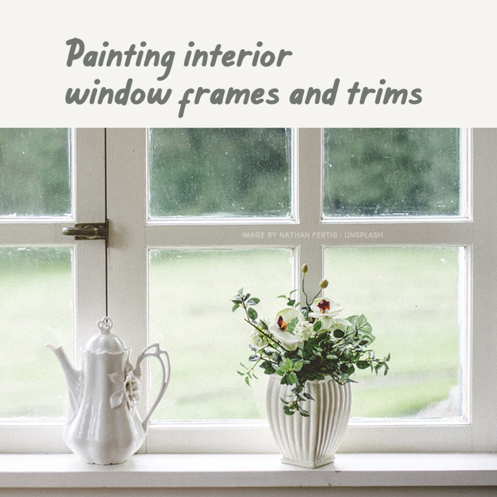 Boysen Tutorials: How to Paint Your Condo | Painting interior windows frames and trims