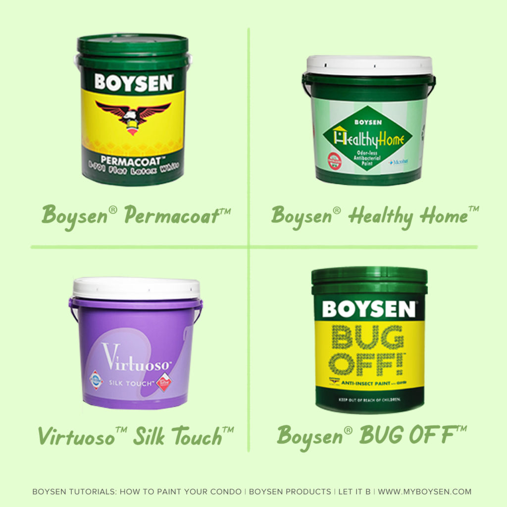 Boysen Tutorials: How to Paint Your Condo | Boysen Products