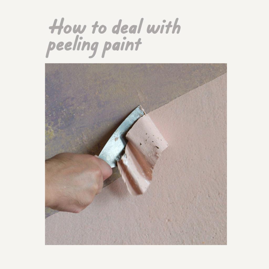 Boysen Tutorials: How to Paint Your Condo | Peeling Paint
