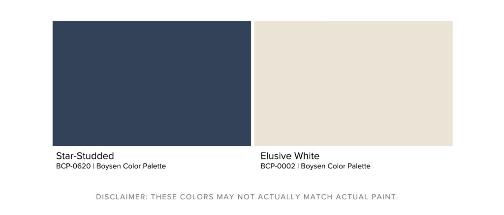 How To Maximize Your Room's Paint Color - Clean Contrast Palette - Boysen Color Palette