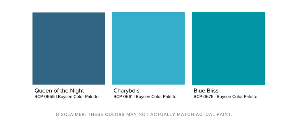 How To Maximize Your Room's Paint Color - Jewel Tone Palette - Boysen Color Palette