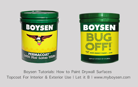 Topcoat for interior and exterior