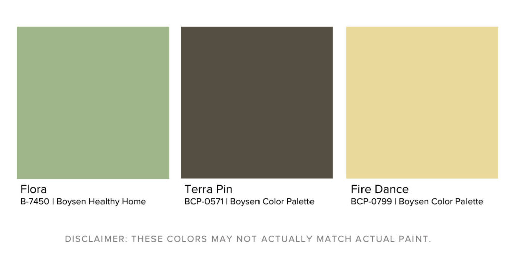 Matching Exterior House Paint Designs to Landscapes - Aman Kyoto Boysen Color Palette