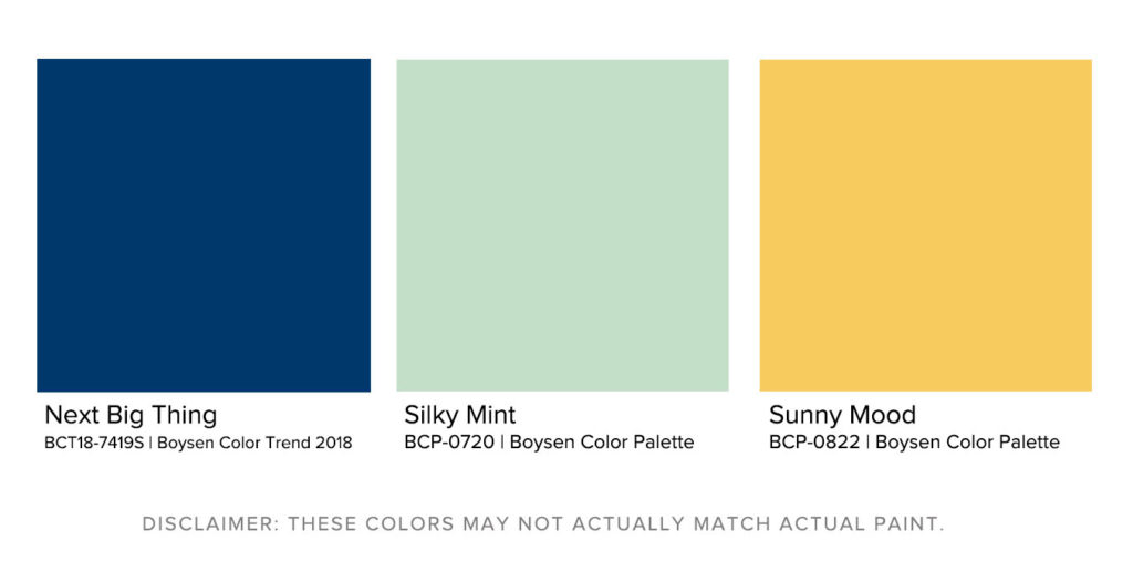 Matching Exterior House Paint Designs to Landscapes Jardin Boysen Color Palette