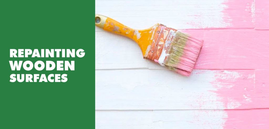 Repainting Wooden Surfaces