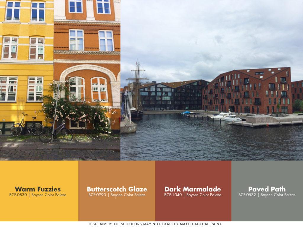 Painting Ideas Inspired by Copenhagen - Christianshavn