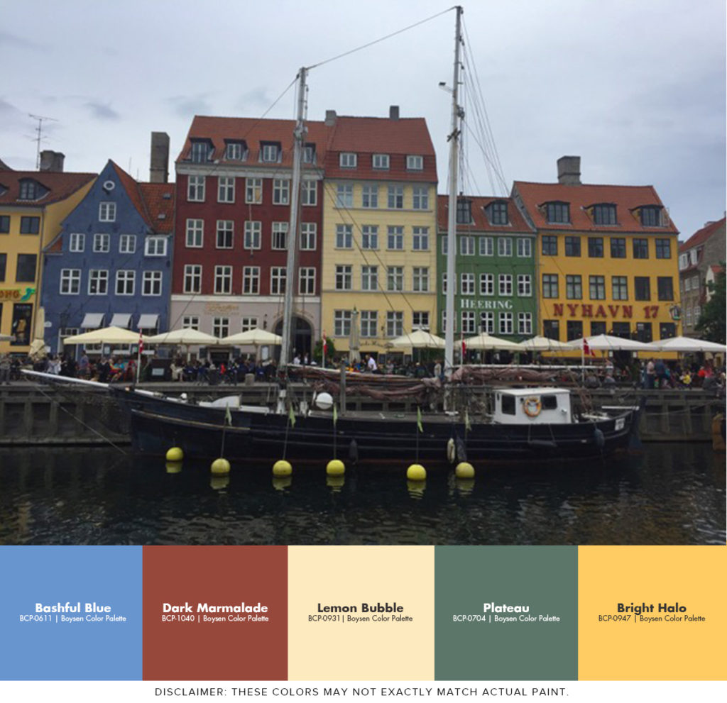 Painting Ideas Inspired by Copenhagen - Indre By