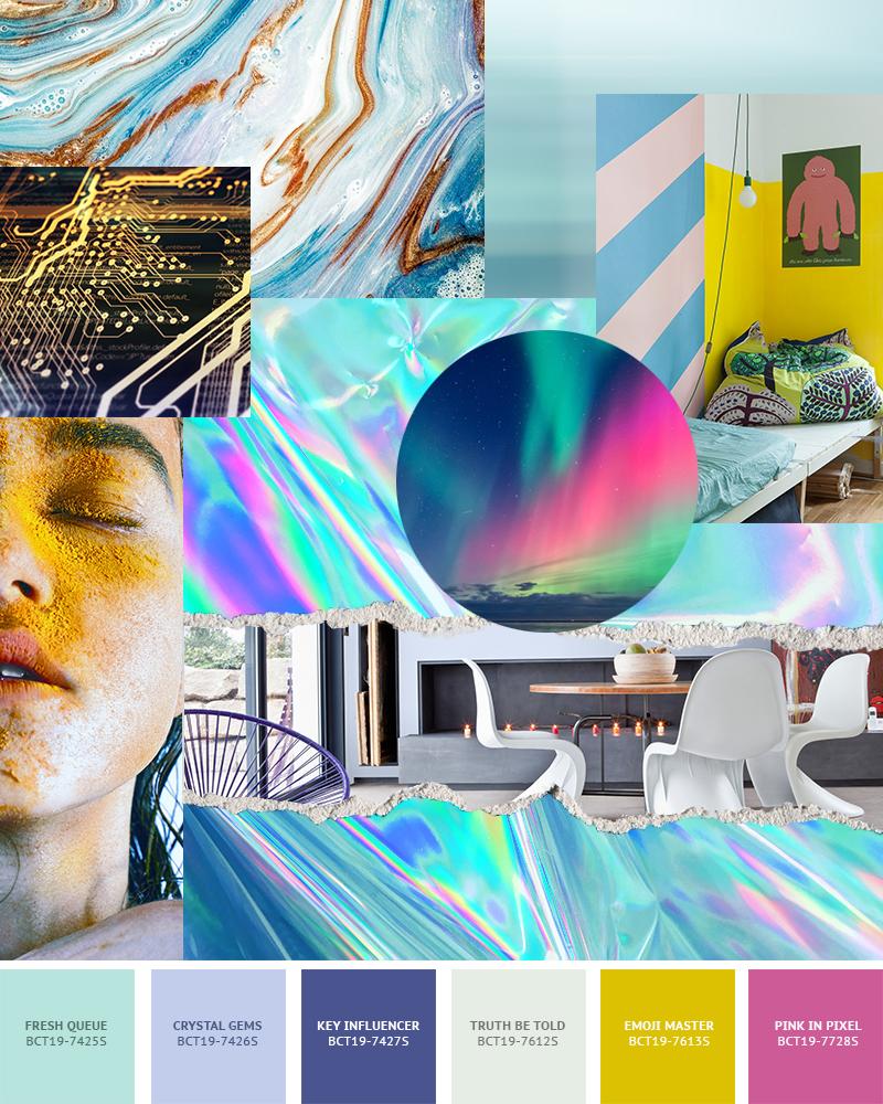 Boysen Color Trend 2019 Enable Palette