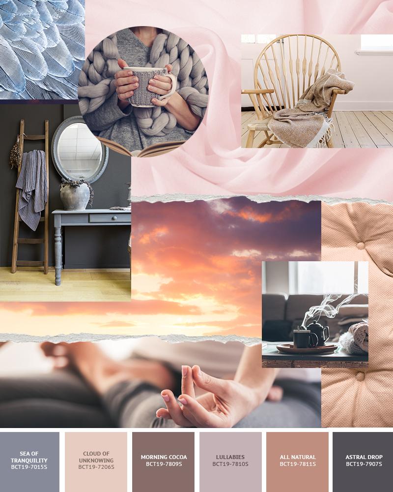 Boysen Color Trend 2019 Enlighten Palette