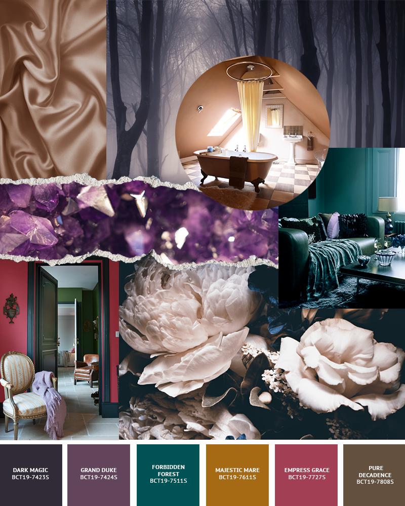 Boysen Color Trend 2019 Enchant Palette