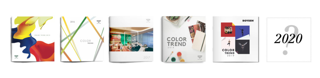Make 2020 a Colorful Year!   Color Trend Brochures