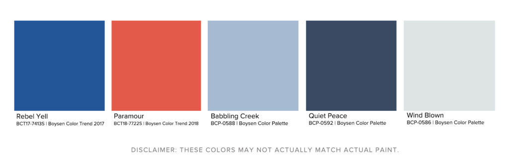 Boysen Closest Color Match
